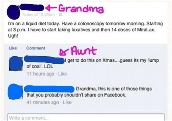 Tmi Grandma