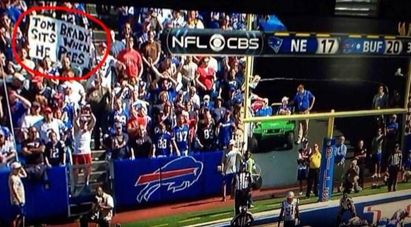 Tom Brady Sits Pees