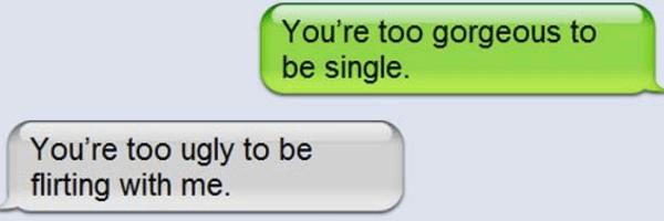 Trashed For Flirting