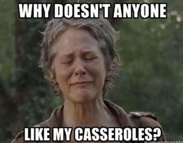 Walking Dead Memes Casseroles