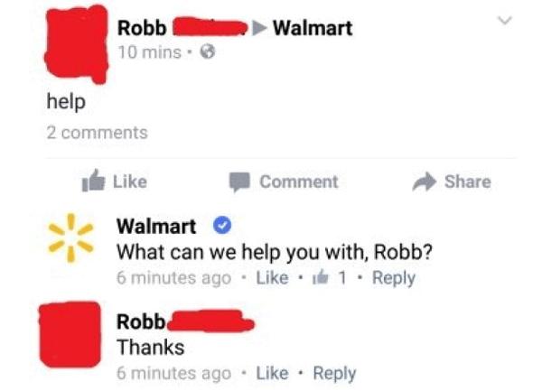 Walmart Help