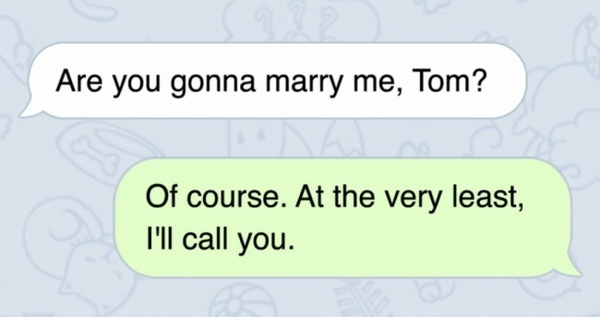 Will Call If Not Marry