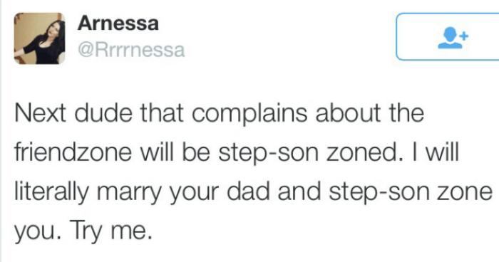 Woman Step Son