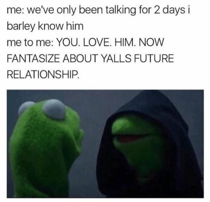 You Love Him Evil Kermit