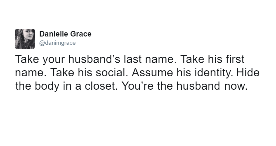 Yours The Husband Now