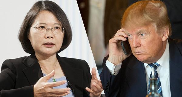Trum And Tsai Ing Wen