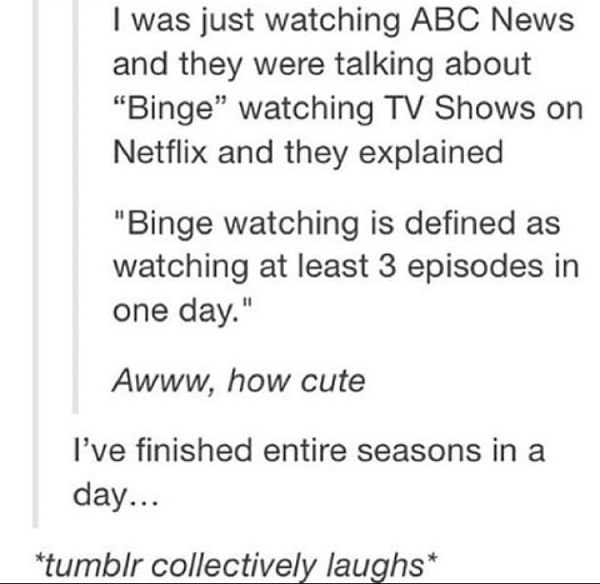 Abc Binge Watching