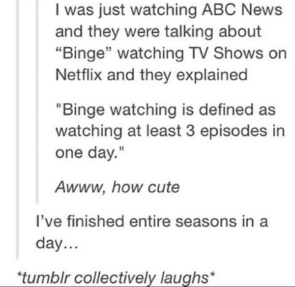 Abc Binge Watching