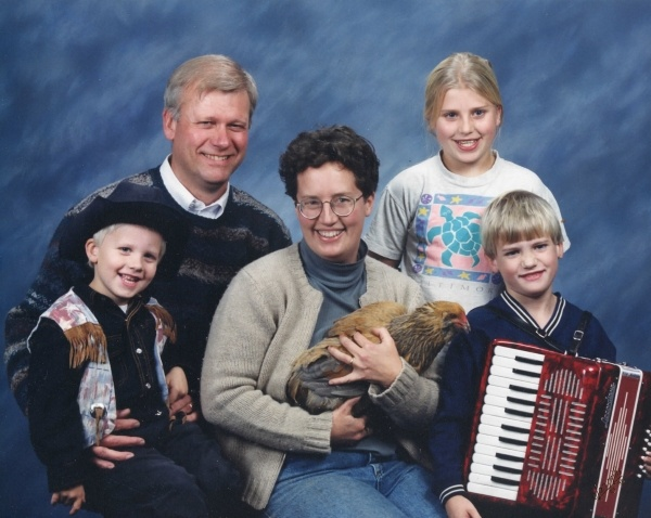 Accordian Rooster