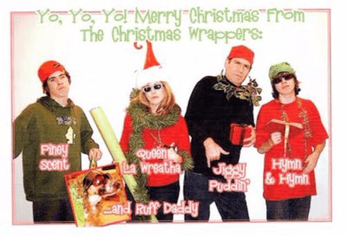 Bad Puns Christmas Card