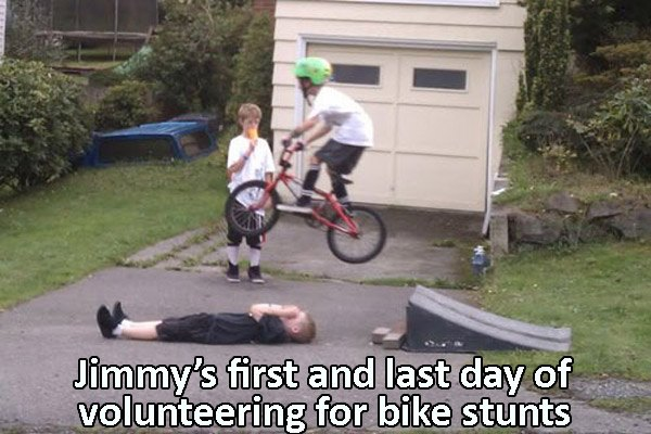 Bikejump Bad Idea