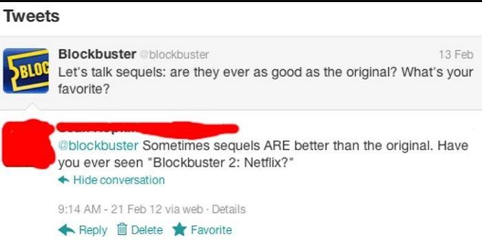Blockbuster Better Sequel Netflix