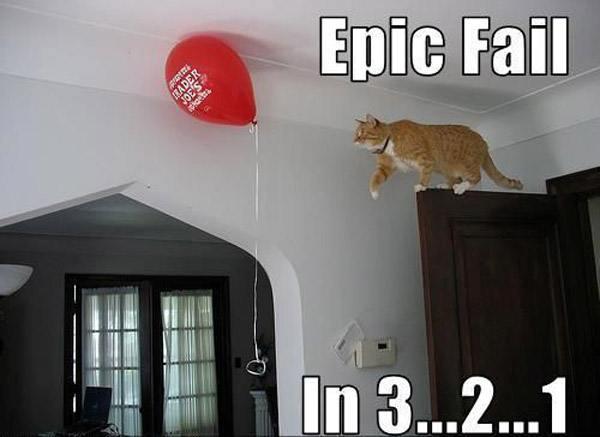 Cat Stalking Balloon