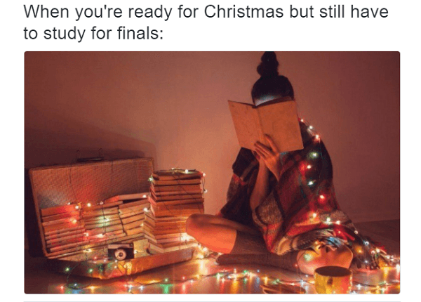 Christmas For University Students