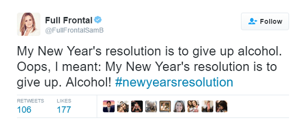 Don't Give Up New Year's Resolutions