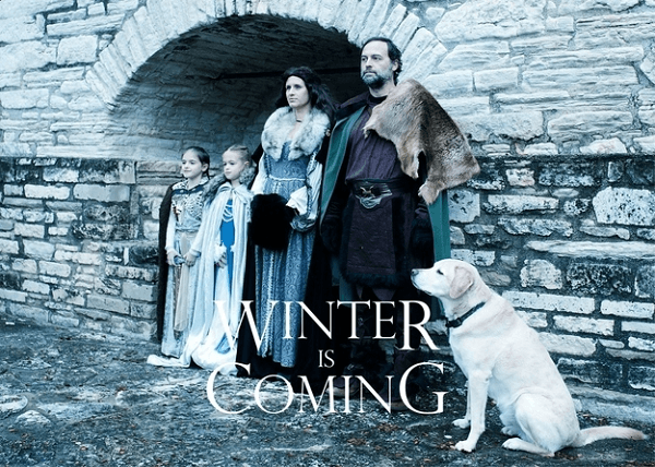 Game Of Thrones Themed Holiday Wishes