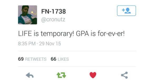 College Memes GPA