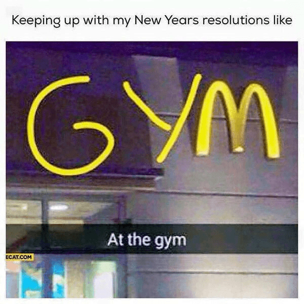 Gym And Or Mcdonalds