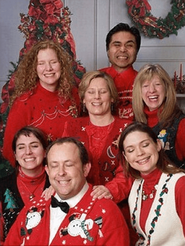 Hilarious Christmas Family Photo Fail