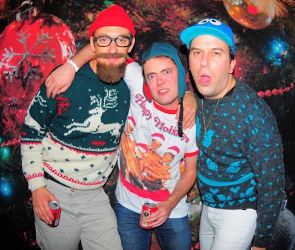 Hipster Awkward Christmas Photo