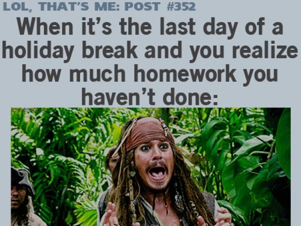 Homework You Havent Done