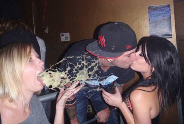 Kissing Vomit Fail