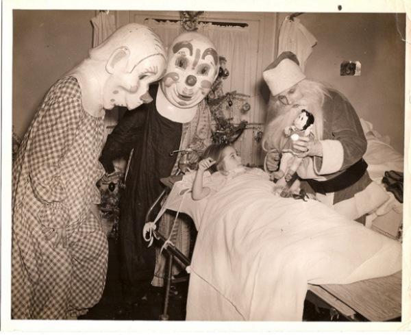 Weird Creepy Santas