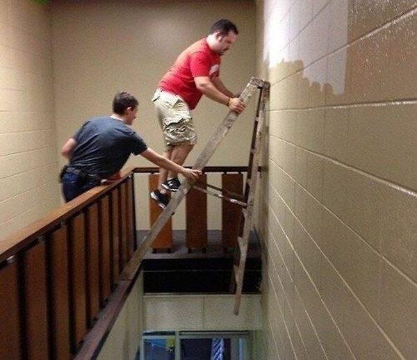 Ladder Bad Idea