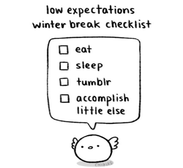 Low Expectations Checklist
