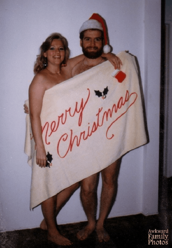 Weird Christmas Card Photos