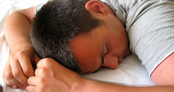 Man Sleeping Natural Remedies Xanax