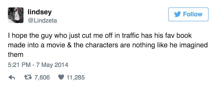 Movie Adaptation Tweet