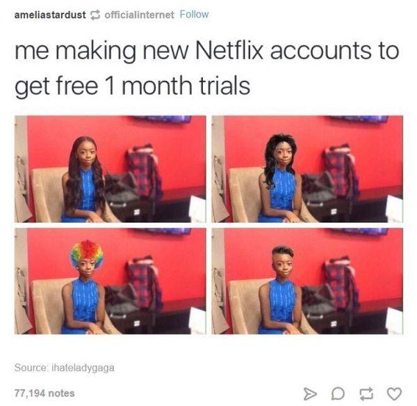 New Netflix Accounts