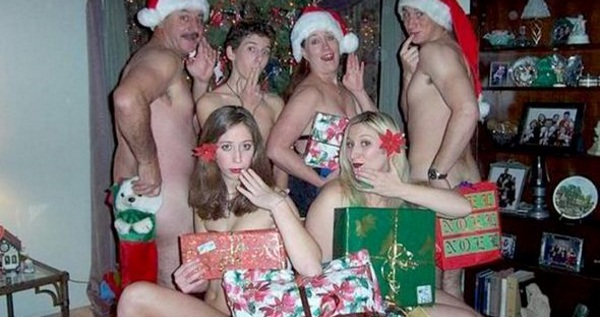 No Clothes Christmas