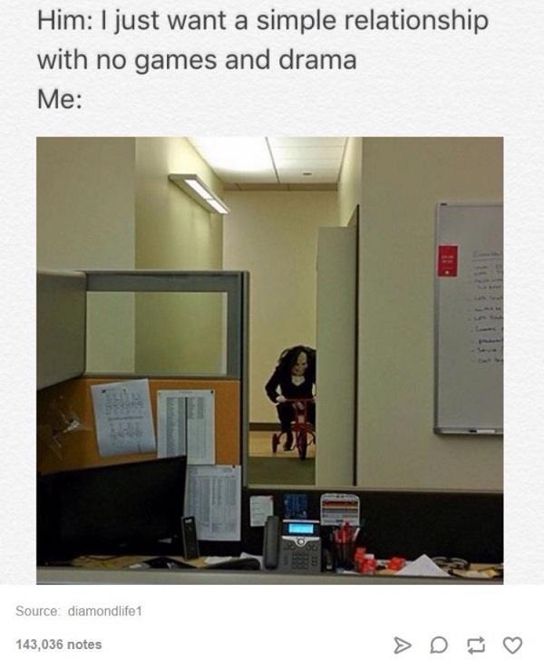 No Games And Drama