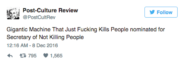Not Killing People