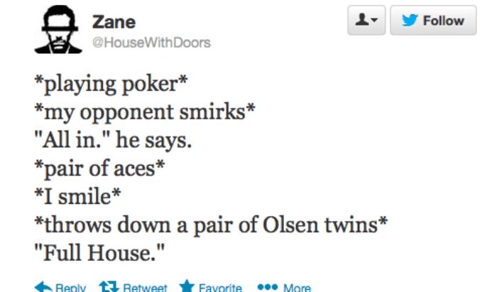 Olsen Twins Poker