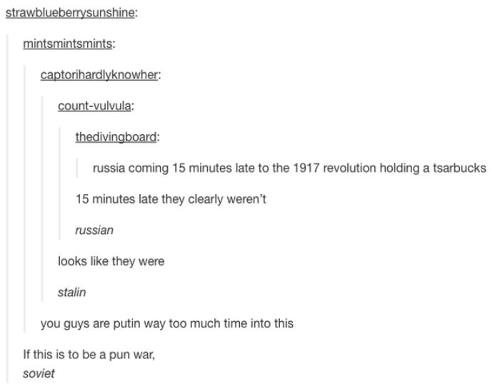Pun War