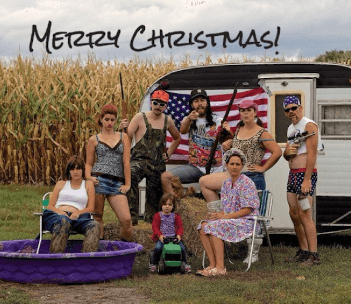 Redneck Christmas Card