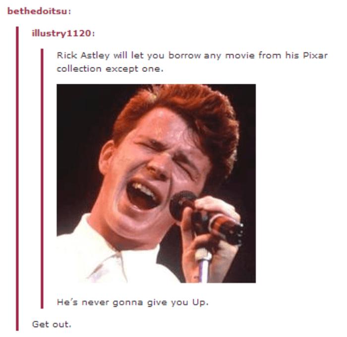 Rick Astley Tumblr