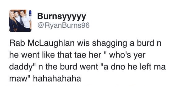 Ridiculous Scottish Tweets