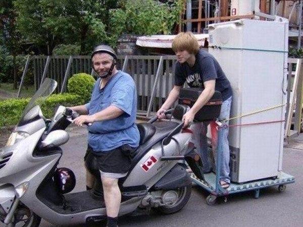 Scooter Fridge Idea