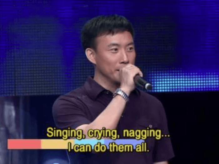 Singing Crying Nagging