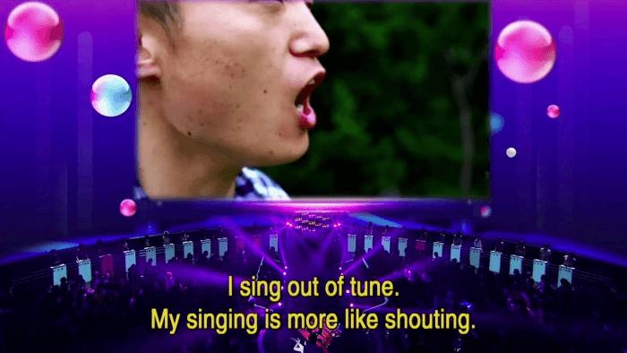Singing Slash Shouting