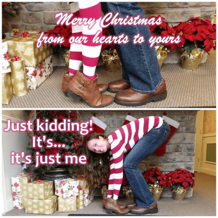 Single Funny Christmas Cards