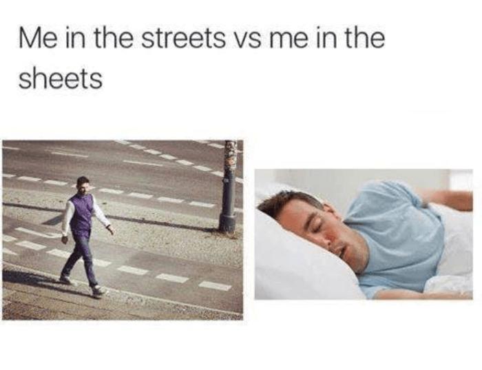 Streets V Sheets