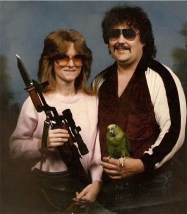 Sunglasses And Parrots
