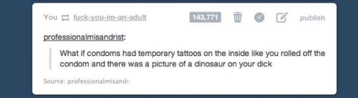 Temporary Tattoos Condoms