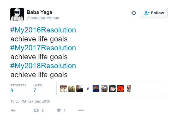 The Dad Of New Year's Resolutions