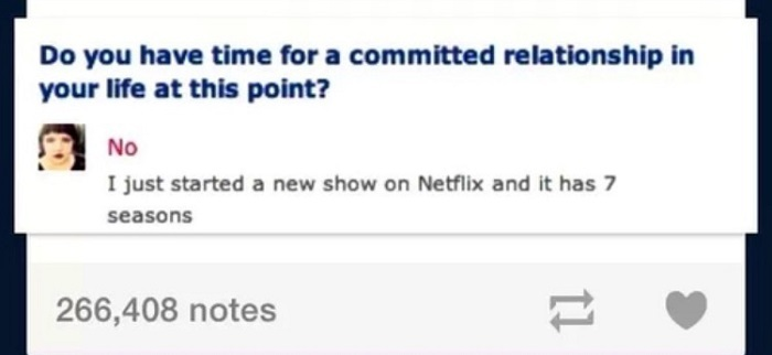 Time For A Committed Relationship With Netflix